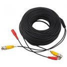 Generic 10m 32.8ft BNC Video and Dc Power Extension Cable/lead with Connector for Surveillance