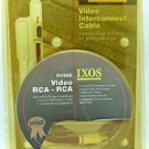 IXOS Rosso 2 meter Composite Video/Digital Coaxial Cable 119AV-200