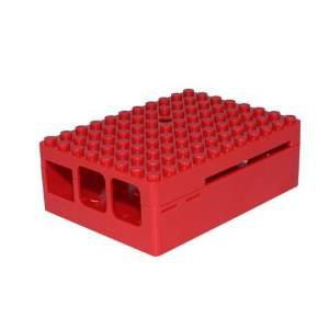 PiBlox Case For Raspberry Pi - Red