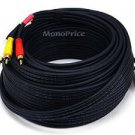 Monoprice 102181 50-Feet Triple RCA Stereo Video Dubbing Composite Cable (3 x RG59U Cable )