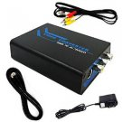 Cater HDMI To Composite RCA & S-video Converter Scaler 720p 1080p with Adapter (hdmi to s-video