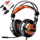 Sades SA-928 Lightweight Professional Gaming Headset Over Ear Headband Headphones with Micropho