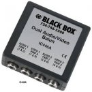 Black Box Dual Audio/Video Balun