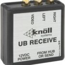 Knoll Systems UB-RECEIVE Video Receiver - Audio and Composite Video