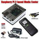 Raspberry Pi 2 Based - Extreme Xbmc Kodi Media Center - BW Case