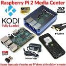 Raspberry Pi 2 Based - Extreme Xbmc Kodi Media Center - Blue Case