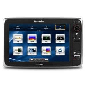 The Amazing Quality Raymarine e127 Multifunction Display w/Sonar - Lighthouse Navigation Charts