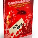 Unique Romantic Proposal  - out-of-the-box proposal ideas - eBook
