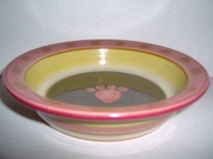 Sweet Treat Shallow Food Dish Bowl FREE S&H!!!