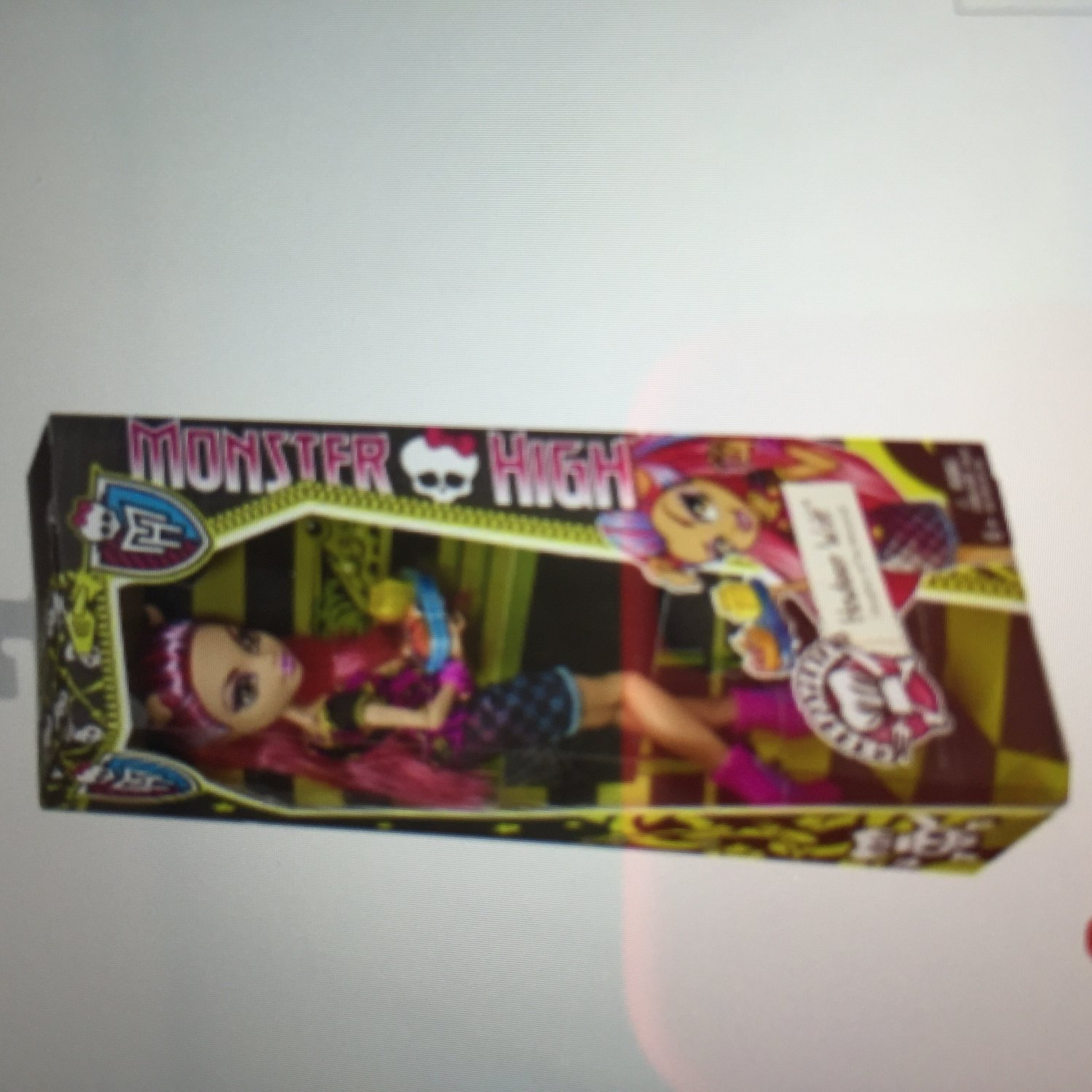 "Monster High Creepateria  Howleen Wolf Doll 12"" H New in Box set"