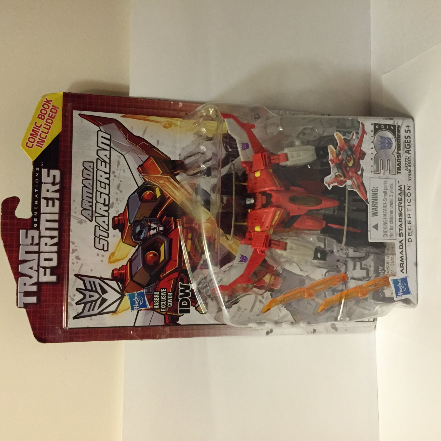 Transformers Generations 30th Anniversary Armada Starscream Action Figure-New