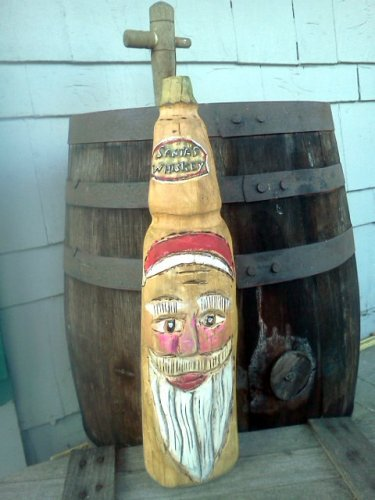 Santa's Whiskey Bottle