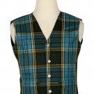 Anderson Tartan-Men's Traditional Style 5 Button Scottish Plaid Vest