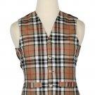 Campbell of Thompson Tartan-Men's Traditional Style 5 Button Scottish Plaid Vest