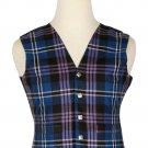Pride of Scotland Tartan-Men's Traditional Style 5 Button Scottish Plaid Vest