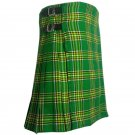 Men's Custom Size Traditional 5 Yard Tartan Scottish Kilt in Various Colors
