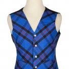 Elliot Modern Tartan-Men's Bespoke 5 Button Scottish Plaid Vest