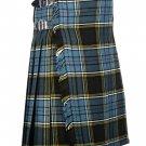 50 Waist Size Traditional 8 Yard Handmade Scottish Kilt For Men - Anderson Tartan