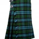 52 Inches Waist Traditional 8 Yard Handmade Scottish Kilt For Men - Campbell Ancient Tartan