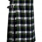 50 Inches Waist Traditional 8 Yard Handmade Scottish Kilt For Men - Dress Gordon Tartan