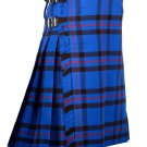 50 Inches Waist Traditional 8 Yard Handmade Scottish Kilt For Men - Elliot Modern Traton