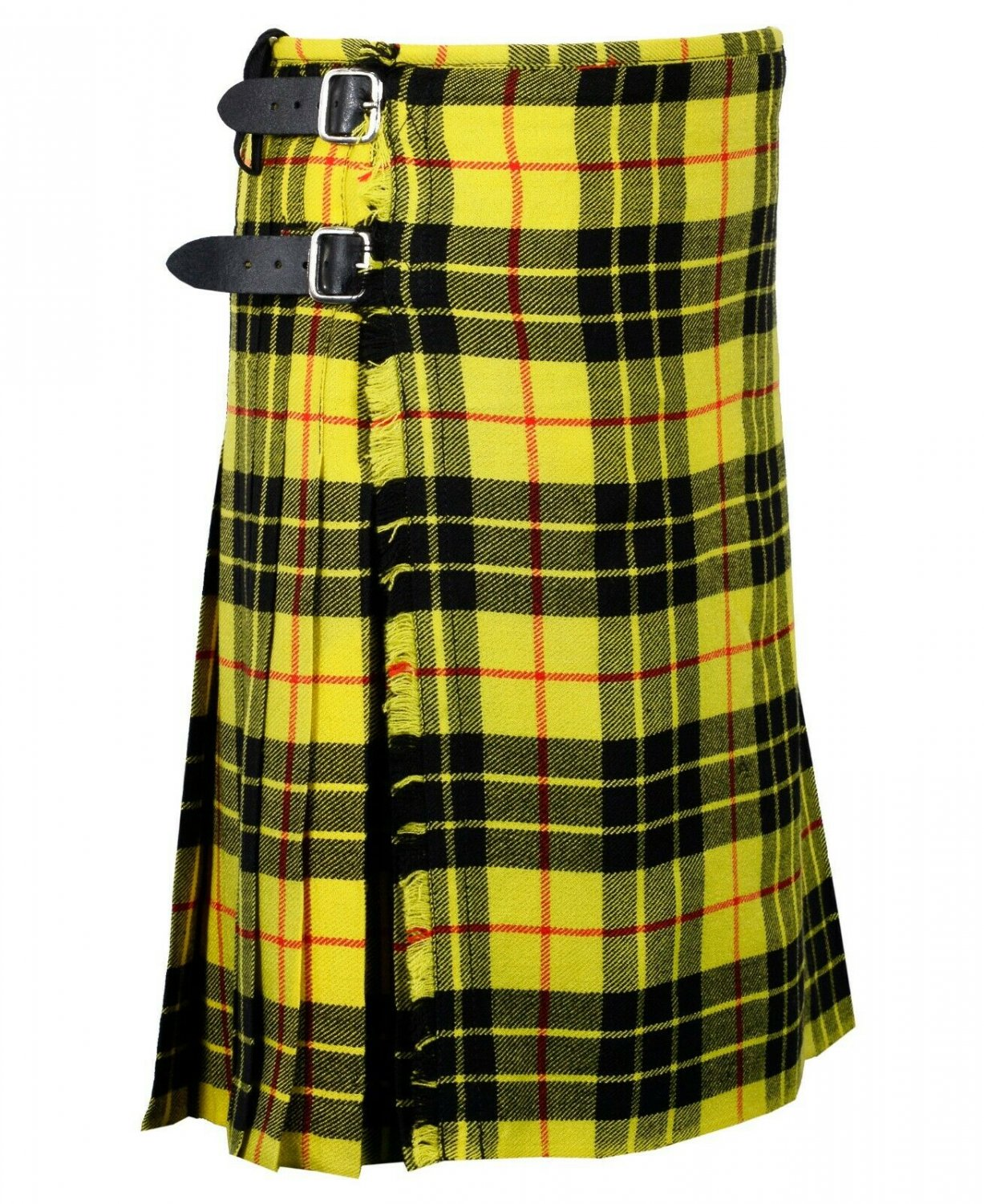 30 Inches Waist Traditional 8 Yard Handmade Scottish Kilt For Men - Macleod Of Lewis Tartan