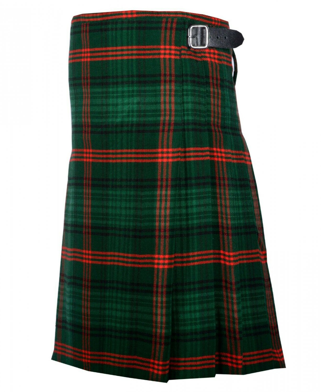 36 Inches Waist Traditional 8 Yard Handmade Scottish Kilt For Men - Rose Hunting Tartan