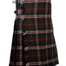50 Inches Waist Traditional 8 Yard Handmade Scottish Kilt For Men - Scot Hunting Tartan
