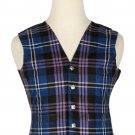 44 Inches Chest New Handmade Traditional Scottish 5 Buttons Tartan Waistcoat Pride Of Scotland