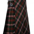 34 inches waist Bias Apron Traditional 5 Yard Scottish Kilt for Men - Scott Hunting Tartan