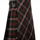 40 inches waist Bias Apron Traditional 5 Yard Scottish Kilt for Men - Scott Hunting Tartan
