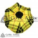 New Handmade Scottish Tam o' shanter Flat Bonnet Hat / Tammie Cap In Clan Tartan Mecleod of lewis