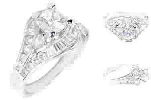 Circa 1920 3.1 carat Ring