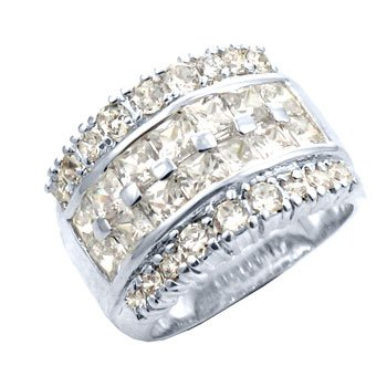7.3 carat channel setting, sizes 6-7