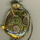 Beautiful 14kt rolled gold pendant