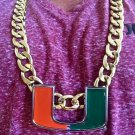 Miami Hurricanes Turnover Chain Large Deluxe Edition