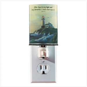 INSPIRATIONAL LIGHT HOUSE NIGHT LIGHT