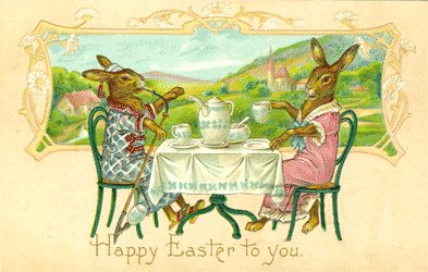 Vintage Postcard - 1908 Happy Easter to You