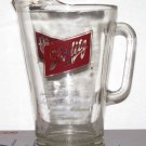 Schlitz 48 ounce, mancave ,glass beer drinking, wife's projectile, heavy pitcher