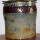 George W. Horner & Co. Ltd. Made in England Decorative tin cannister type Toffee