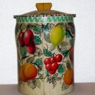 George W. Horner & Co. Fruity tin with lid made in England