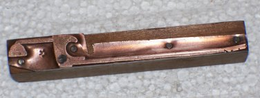I have no idea design copper printing block letterpress unknown used