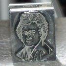 B B & S Chicago #72 metal printing block letterpress portrait or bust