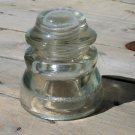 Hemingray 45 clear insulator 15 - 54 Made in U.S.A. 16 dots used