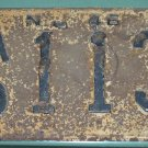 New Jersey 1946 License Plate AO 113 used vintage