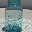 Ball Perfect Mason quart size no lid used and empty blue color?