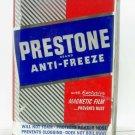 Prestone Eveready Brand Anti-Freeze Union Carbide 1 gallon metal container