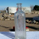 Dr. Peter Fahrney & Sons Co. Chicago, ILL. clear bottle used & empty