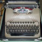 Corona Sterling Floating Shift model 2A? typewriter used and vintage hard case