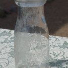 Albuquerque Creamland Half Pint Milk bottle used, clear & empty